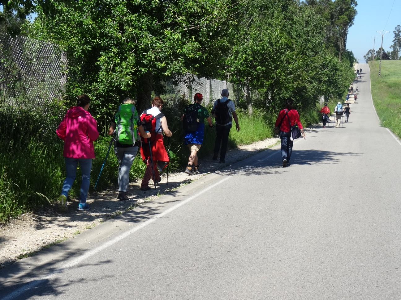 Tag 37, von Rua nach Santiago de Compostela
