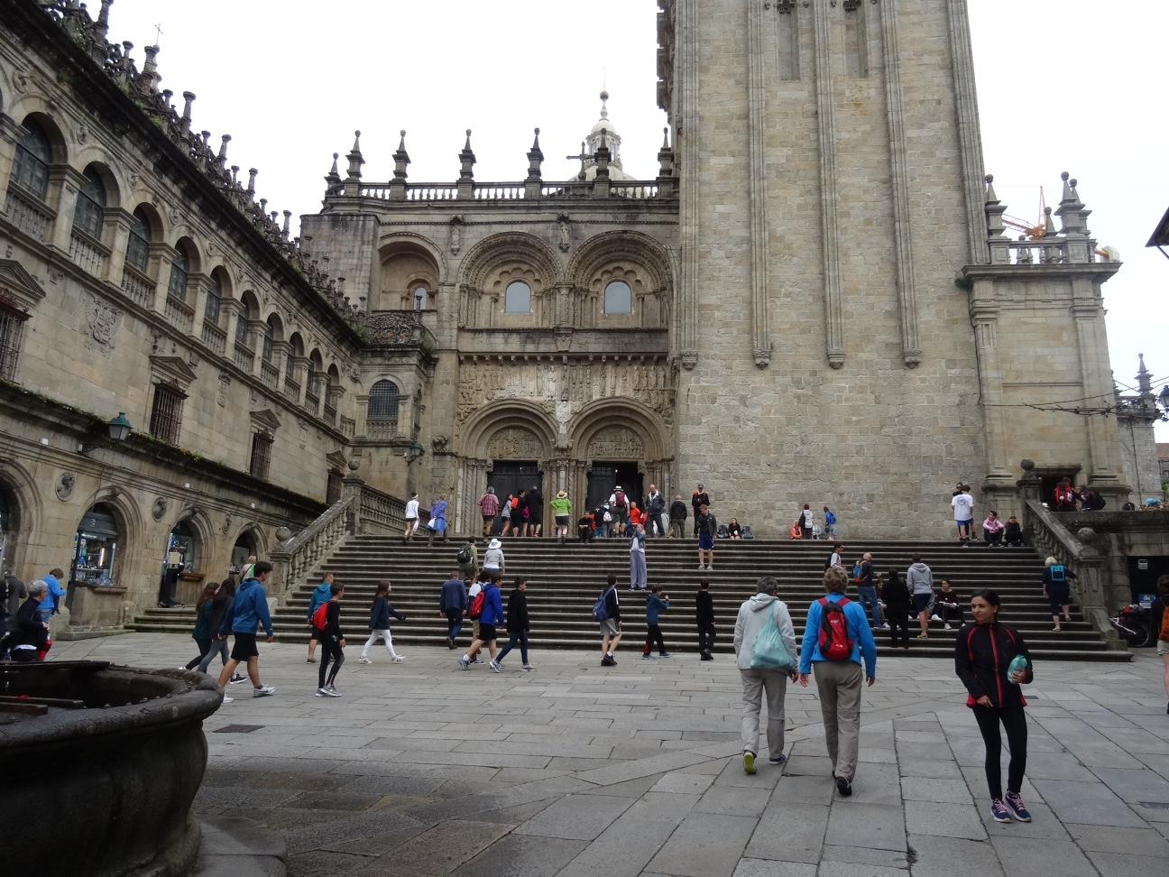 Tag 38, Ruhetag in Santiago de Compostela